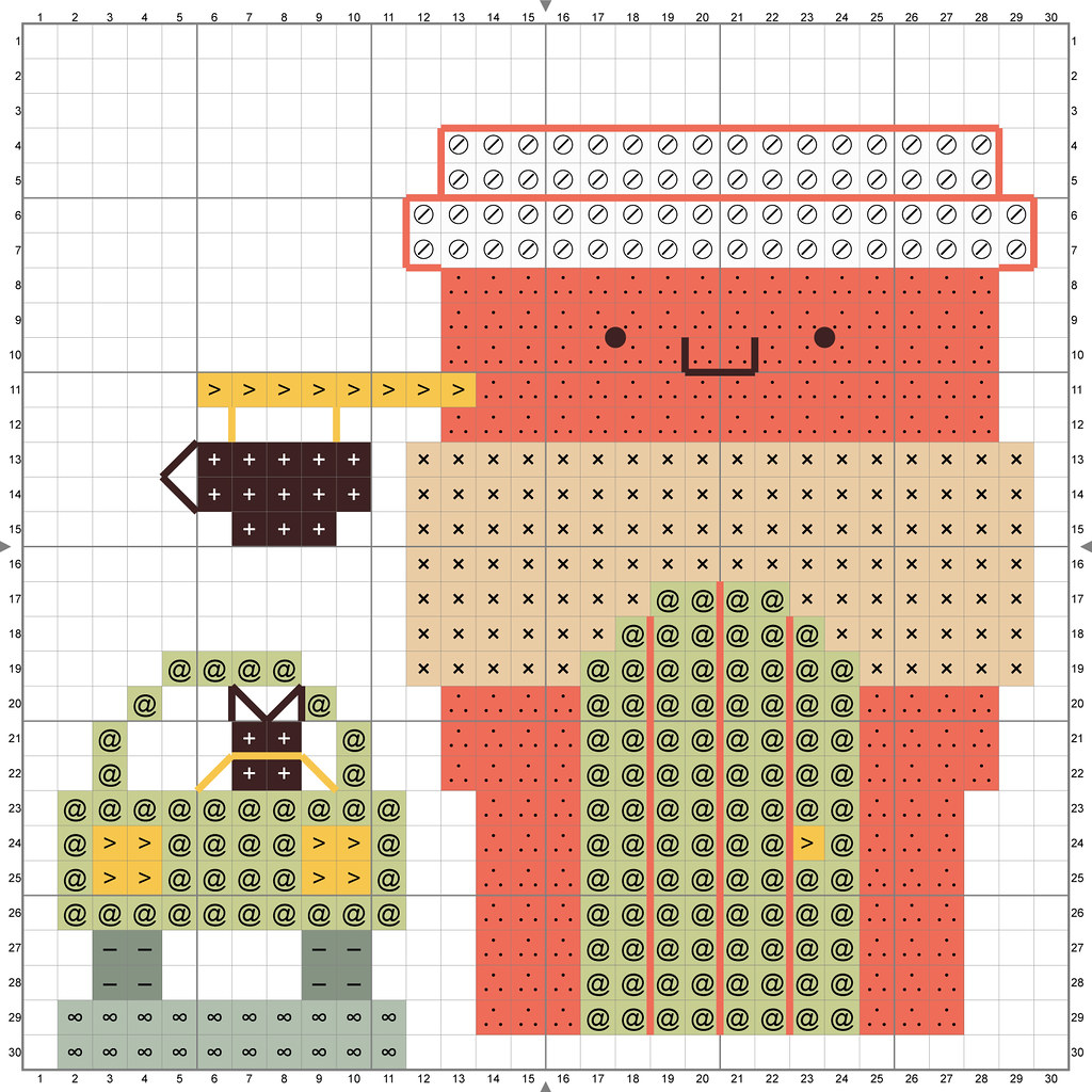 Kawaii Crossing Coffee Shop Cross Stitch Pattern
