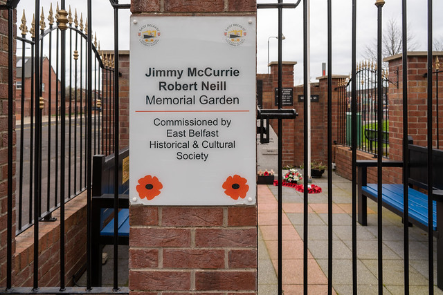 JAMES McCURRIE ROBERT NEILL MEMORIAL GARDEN [NEWTOWNARDS ROAD BELFAST]-168078