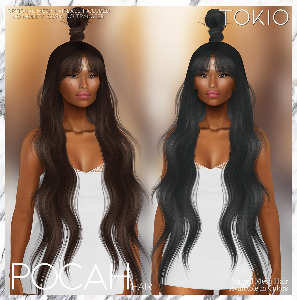 TOKIO Hair – POCAH – Miix Weekend L$75 @Mainstore!!