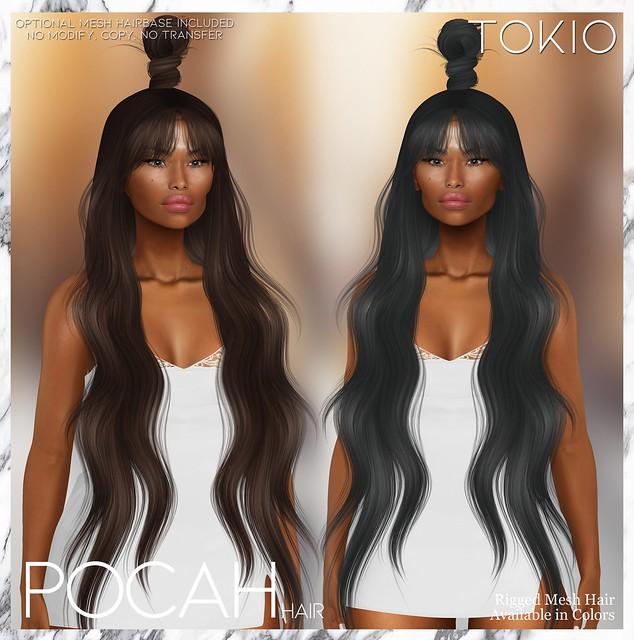 TOKIO Hair - POCAH - Miix Weekend L$75 @Mainstore!!