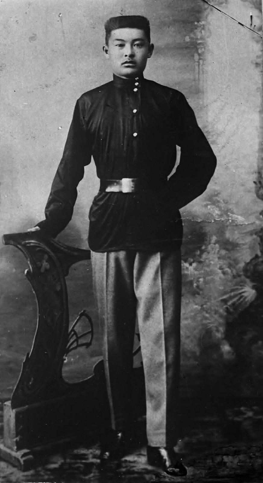 16. 1910-е. Молодой студент Чойбалсан в Иркутске