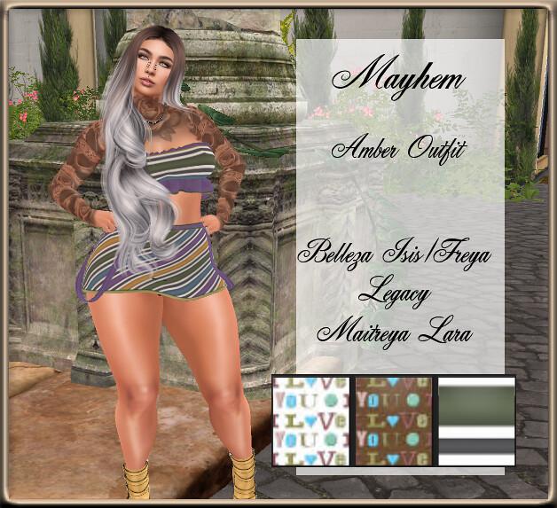 Mayhem Amber Outfit GG