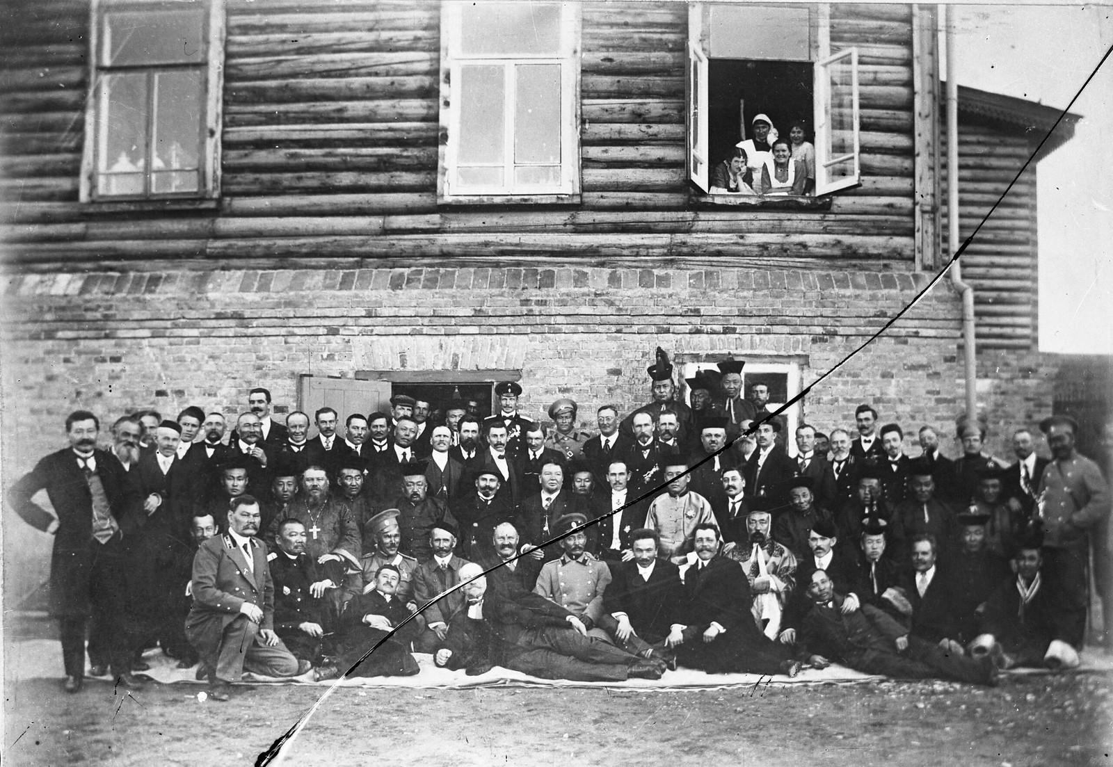 05. 1913. Правительственная делегация Монголии в России