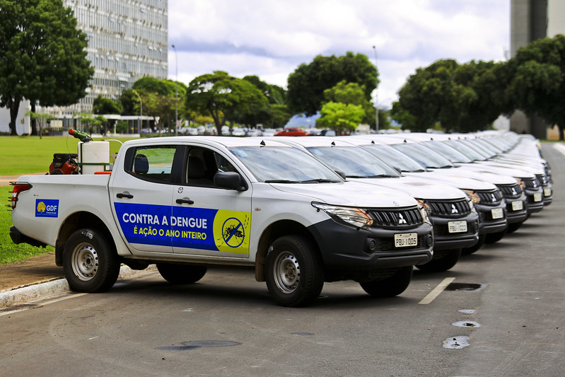 Drones e novas armadilhas contra o Aedes Aegypti são testadas na Vila Planalto