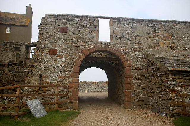 Freswick Castle