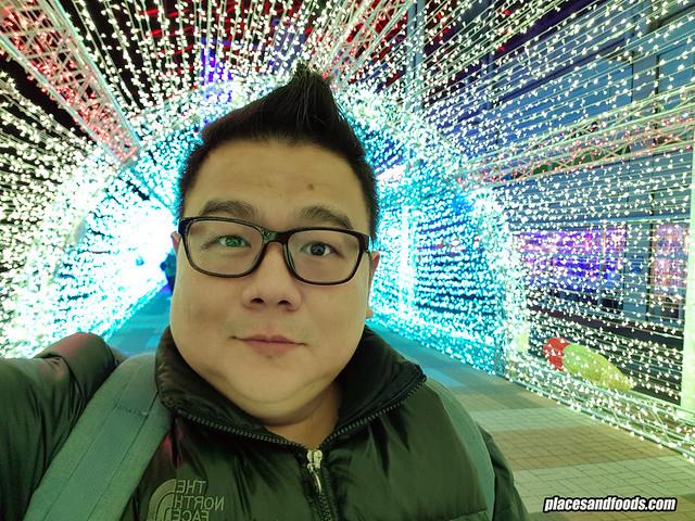 osaka light tunnel