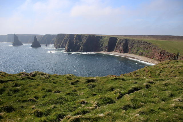 Looking south from Duncansby Head