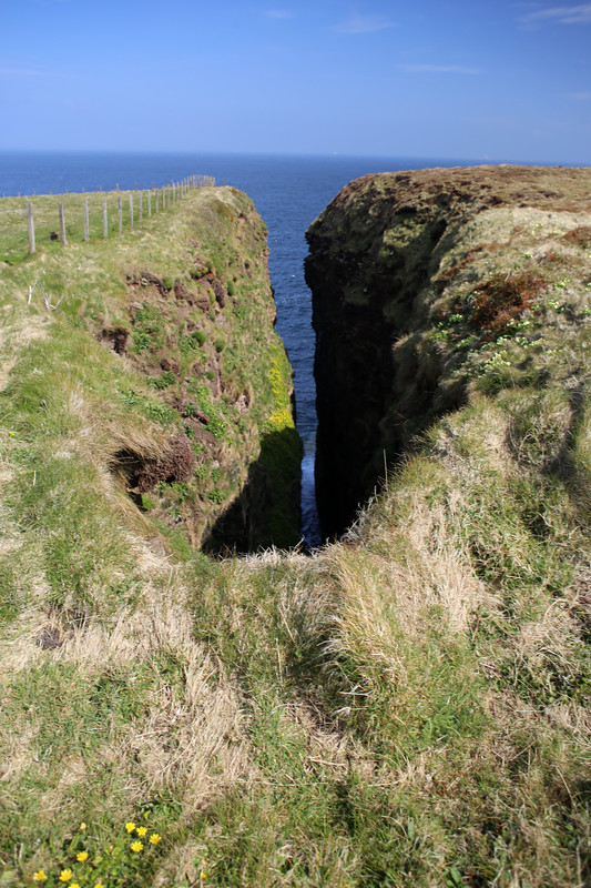 The coast west of Duncansby Head
