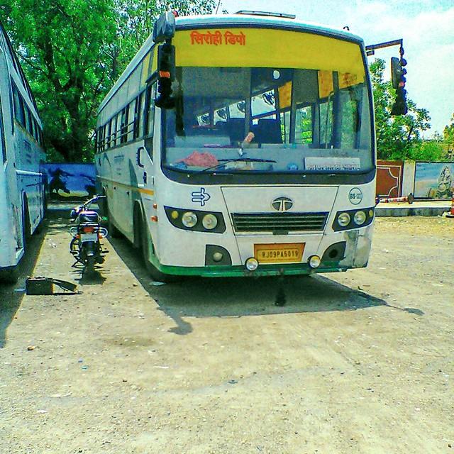 RSRTC Semi Deluxe Bus TATA BS-III