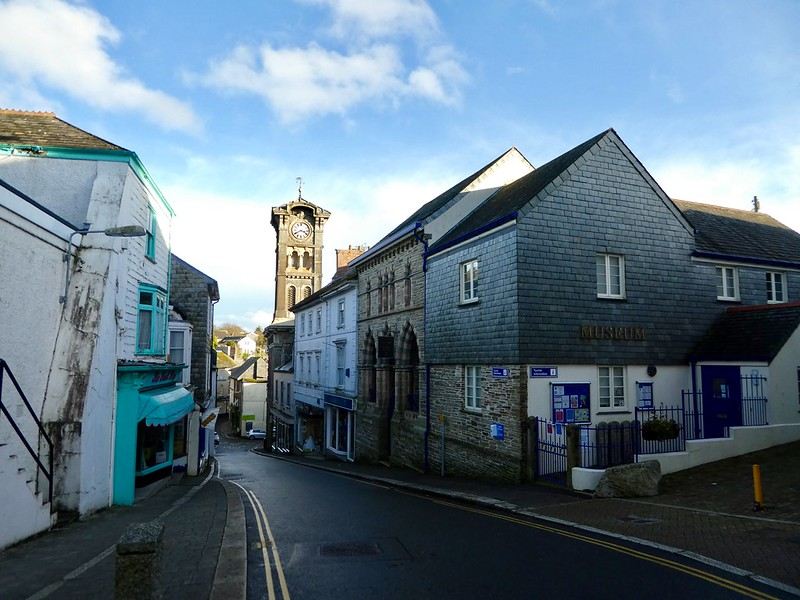 Liskeard town museum, Cornwall