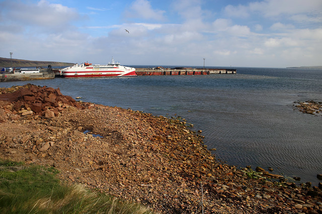 Gills Bay ferry terminal