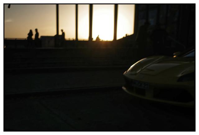 Ferrari sundown...