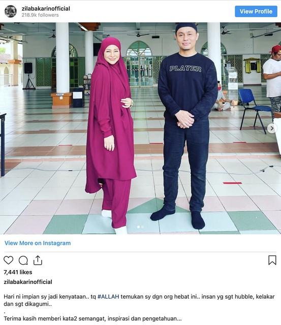 Imej Terbaru Zila Bakarin Selepas Berhijab Terima Pujian Ramai Pengikut