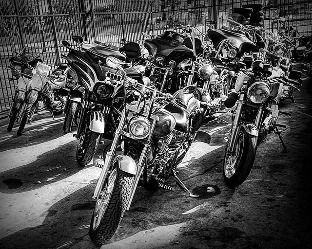 2020-11-0200-Main Street Moto Las Vegas NV-14-Black and White
