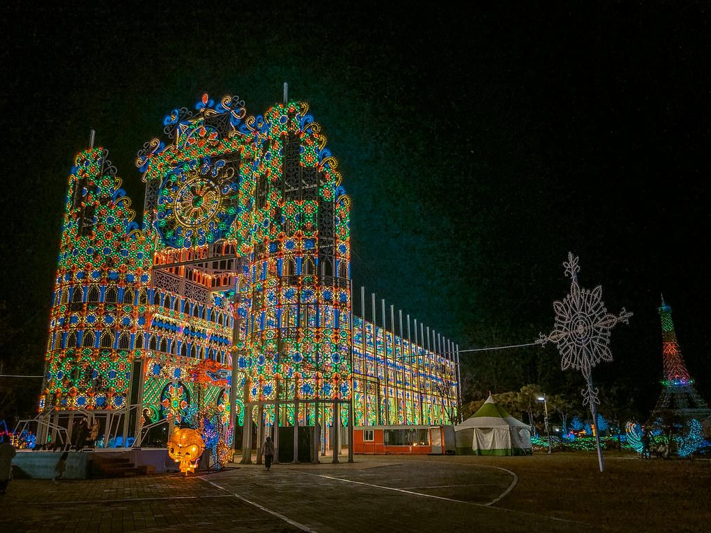 Christmas in Korea | Chungju Light World