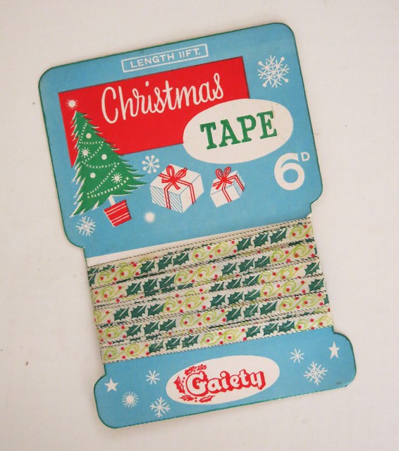 Vintage Gaiety Christmas Tape