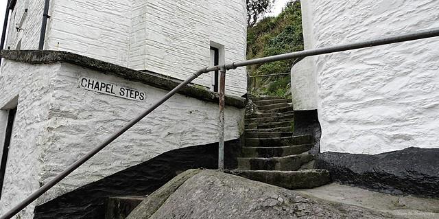 Chapel Steps. Polperro. Sept 2020