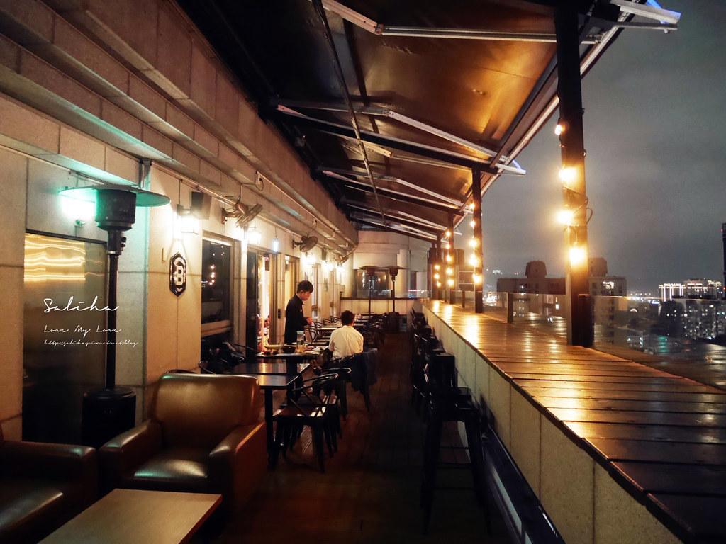 新北板橋府中ABV閣樓餐酒館夜景景觀餐廳美食推薦好吃異國料理美式料理聚餐不限時 (1)