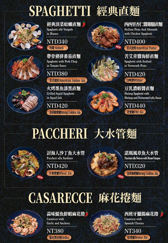 新北板橋府中ABV閣樓餐酒館最新菜單價位訂位menu價格低消3