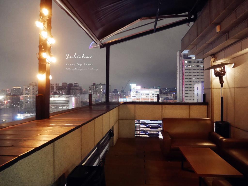 新北板橋府中ABV閣樓餐酒館看夜景餐廳浪漫不限時間小酌消夜氣氛好景觀餐廳 (3)