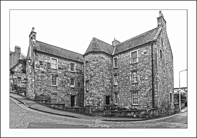 Plewlands House, The Loan, Queensferry, Scotland UK  c.1641