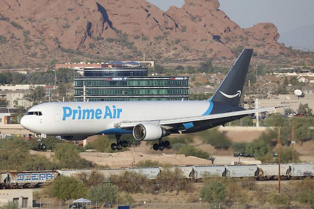 N307AZ, Boeing 767-300BCF, Prime Air, Phoenix Sky Harbor - Arizona
