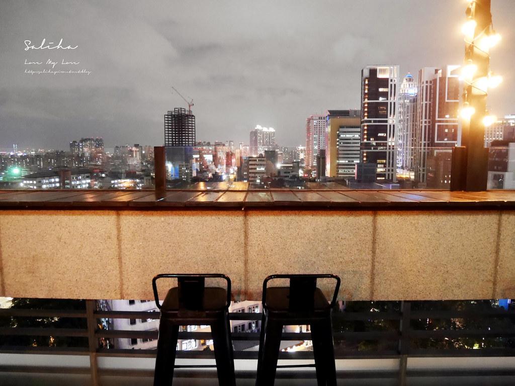 新北板橋府中ABV閣樓餐酒館看夜景餐廳浪漫不限時間小酌消夜氣氛好景觀餐廳 (2)