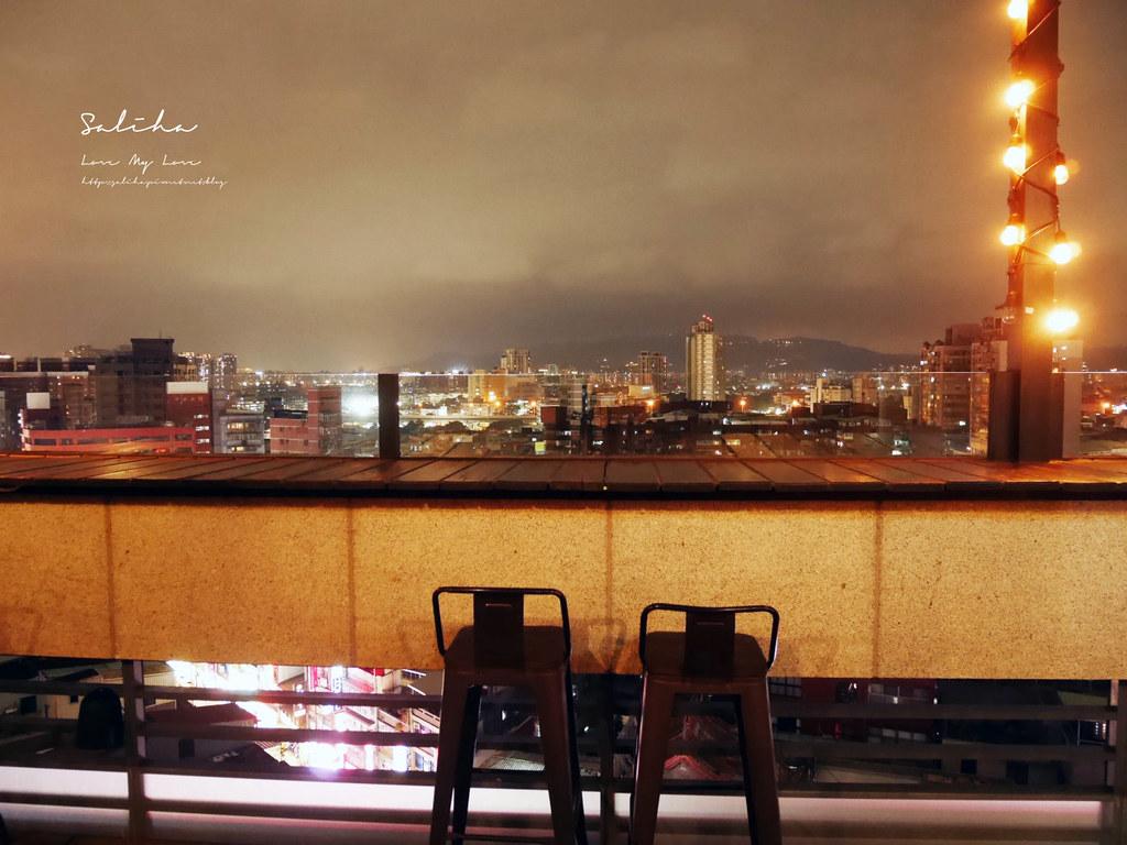 新北板橋府中ABV閣樓餐酒館不限時景觀餐廳看夜景餐廳浪漫氣氛好 (2)