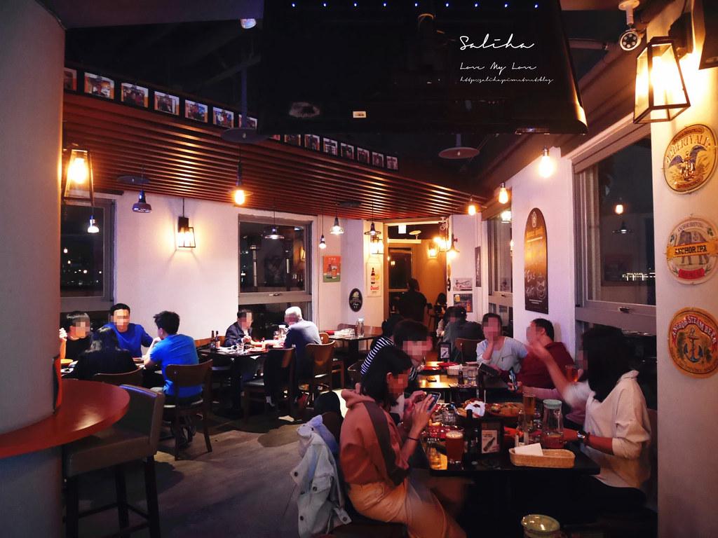 新北板橋不限時餐廳推薦府中站附近美食ABV閣樓餐酒館聚餐約會看夜景觀餐廳 (8)
