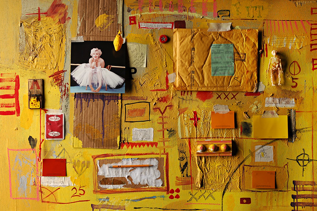 Wednesday Painting with Marilyn (Yellow Version #2)