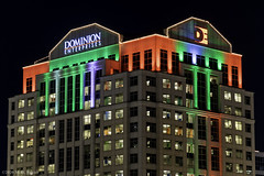 Dominion Enterprises Building During the Holidays