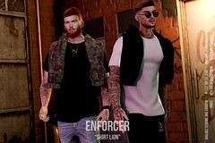 [ENFORCER] Shirt Lion