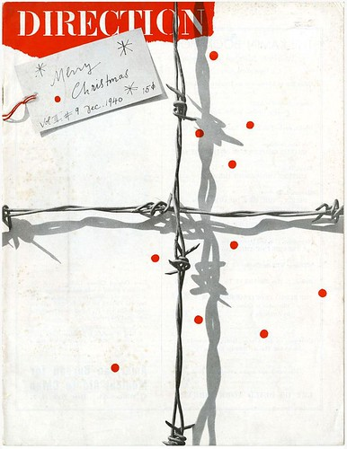 Paul Rand, Cover for Direction magazine, December 1940