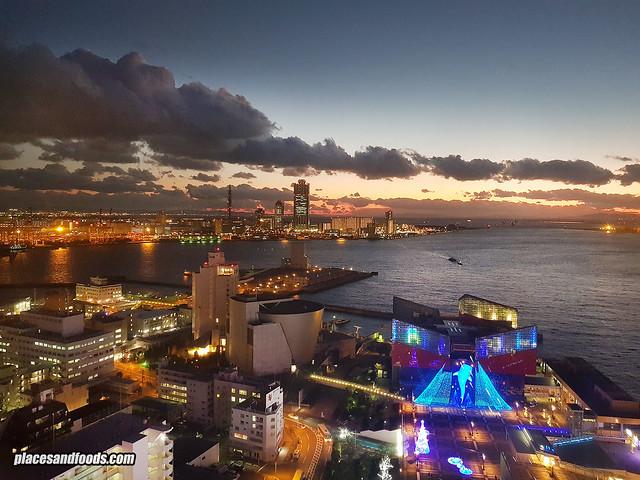 tempozan night view