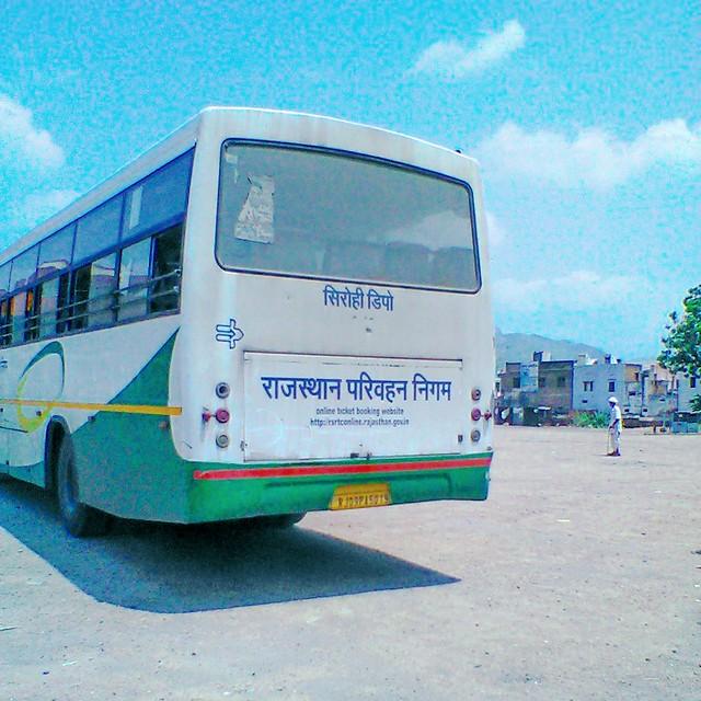 RSRTC 5019 Semi Deluxe Bus