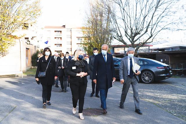 Visite du recteur au lycée Hélène Boucher, 1jeune1solution, 24 nov. 2020