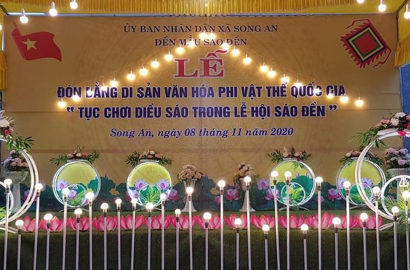 Le don nhan bang di san van hoa phi vat the quoc gia