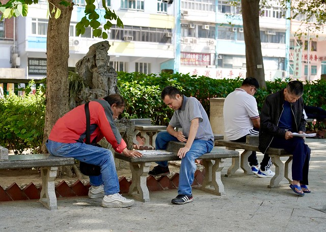 Chinese Chess Players