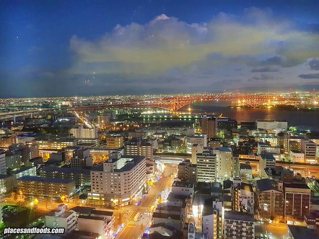osaka tempozan night view