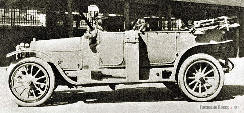 Штабной автомобиль «Руссо-Бюир 25/35 л.с.»