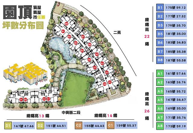 園頂坪數規劃圖