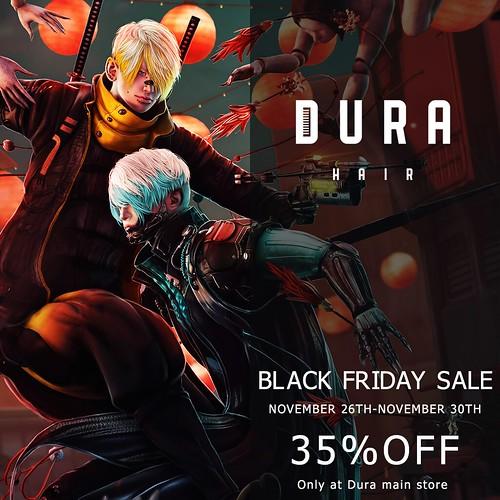 Dura's Black Friday Notice