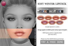 Soft Winter Lipstick (Uber)