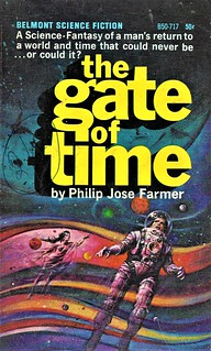 THE GATE OF TIME by Philip Jose Farmer. Belmont 1966. 176 pages. | by Jim Linwood