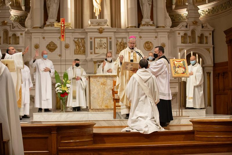 Ordination presbytérale de frère Pierre-Benoît