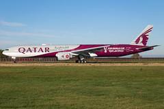"Qatar Airways B777-3DZ(ER) A7-BEB ""FIFA World Cup"""