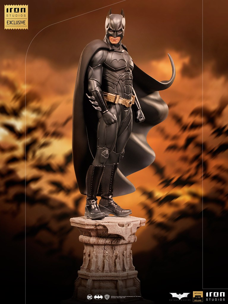 Iron Studios Art Scale系列《蝙蝠俠:開戰時刻》蝙蝠俠 1/10比例全身雕像【CCXP WORLDS限定】