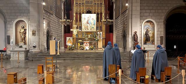 A l'Església de Sant Jaume