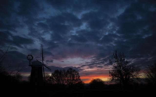 Dawn over Dereham