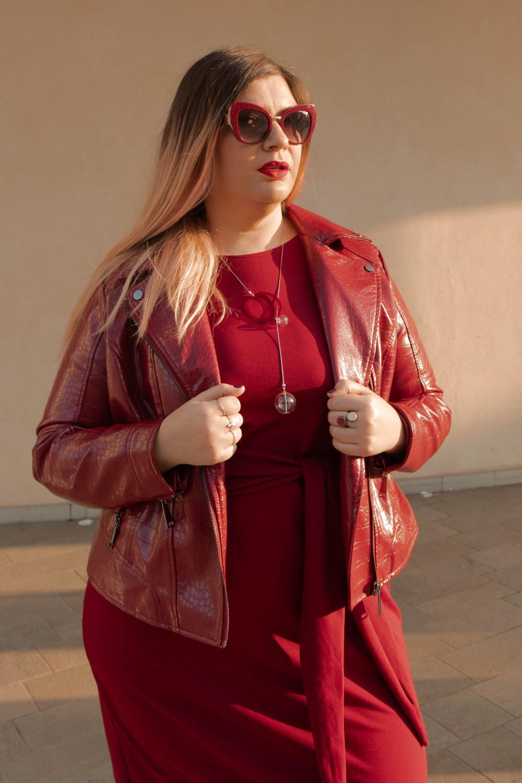 outfit monocromatico con abito byalis (4)